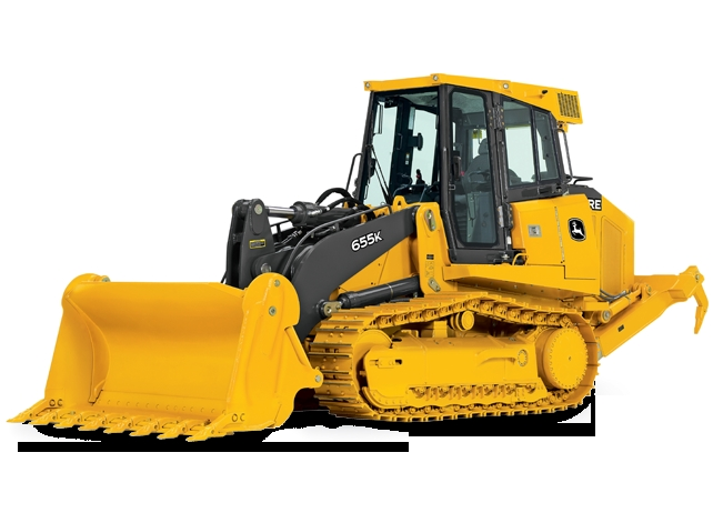 655K Crawler Loader