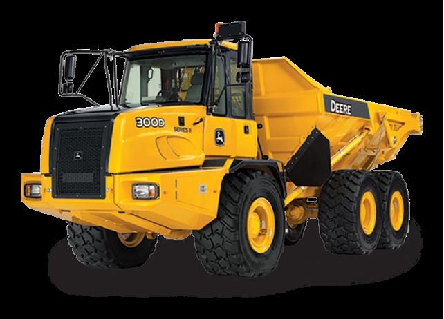 300D-II Articulated Dump Truck