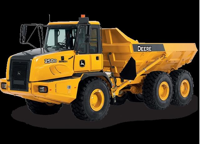250D-II Articulated Dump Truck