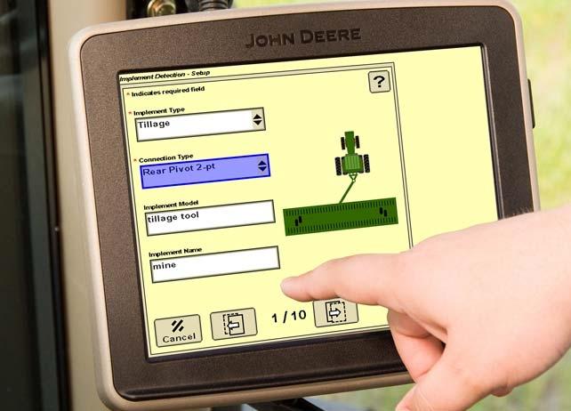 John Deere Implement Detection