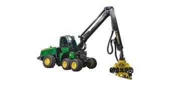 1070E Wheeled Harvester